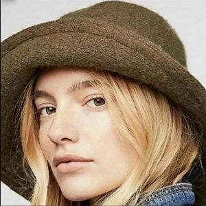 Free People Devon Wool Bucket Hat NEW
